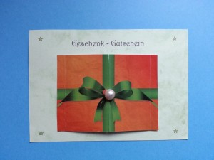 Shiatsu Geschenk-Gutschein